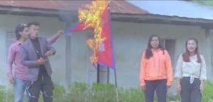 राष्ट्रिय झण्डा जलाएको भिडियो बनाउने ४ जना पक्राउ