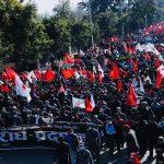 प्रचण्ड- नेपाल नेतृत्व नेकपाको जनआन्दोलन झल्कने शक्तिशाली विरोध प्रदर्सन(फोटोफिचर)