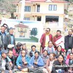 पुर्वमन्त्री डा.लामाको उपस्थितिमा गृह जिल्लामा गुम्बा पुनःनिर्माणका निम्ति क्षमा पुजा सम्पन्न
