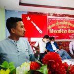 जनतालाई कोभिडको चपेटामा छाडेर सरकार आफ्नो आयुको भिख माग्नमा ब्यस्त छ : तामाङ