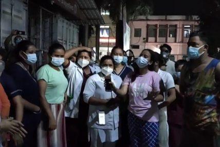 सङ्क्रमितको मृत्यु भएपछि स्वास्थ्यकर्मीमाथि आक्रमण, चार नर्सिङ स्टाफ र एक चिकित्सक घाइते