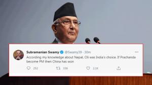 प्रधानमन्त्रीको रुपमा ओली नै भारतको रोजाई : नेता स्वामी
