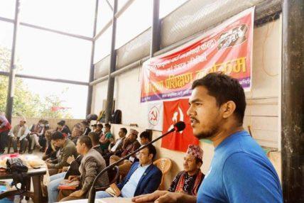 युवा नेता विनोद घिमिरे खेलकुद महासंघको केन्द्रिय सदस्य